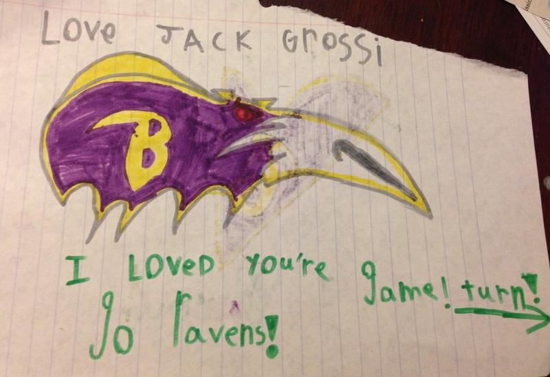 Ravens card side 1
