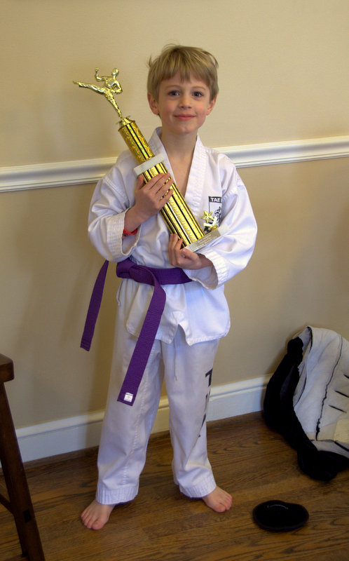 our newest purple belt