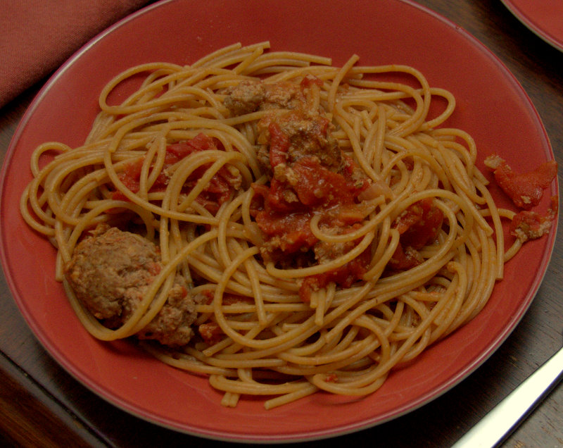 spaghetti and meatballs, best in the world