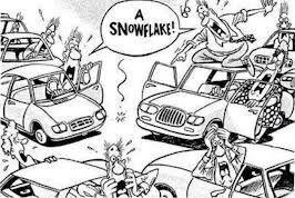 oh no snow