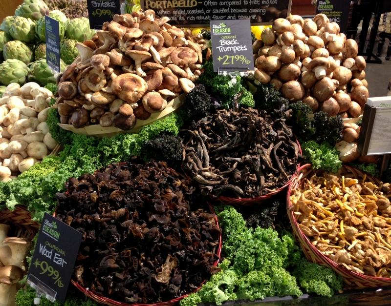 buffet o' mushrooms