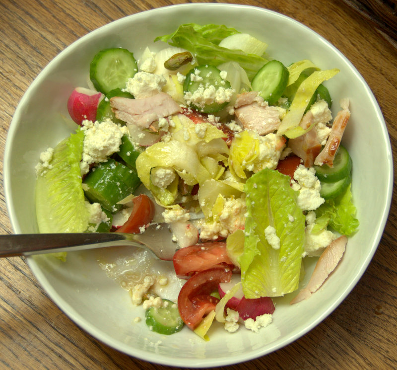 compost salad