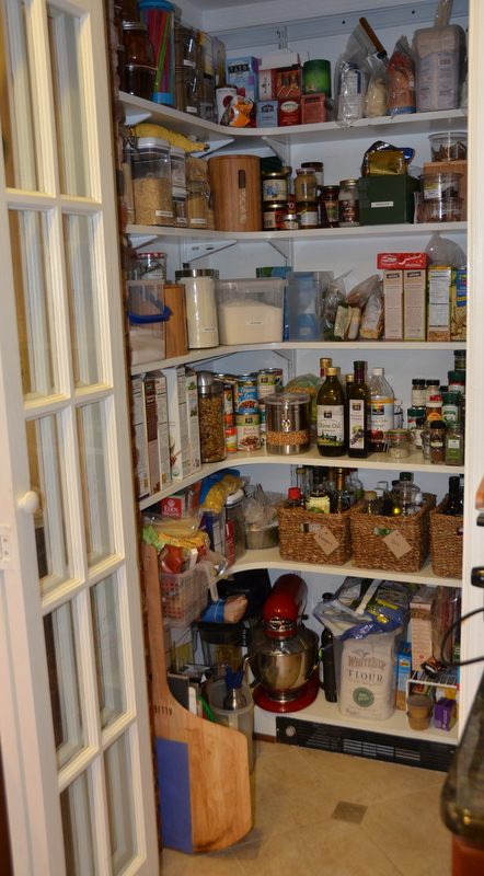 newly reorganized pantry