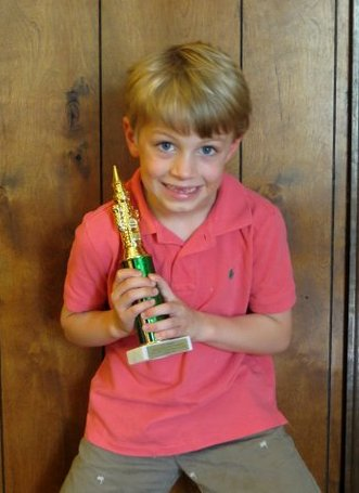 Jack takes second place in his first chess tournament