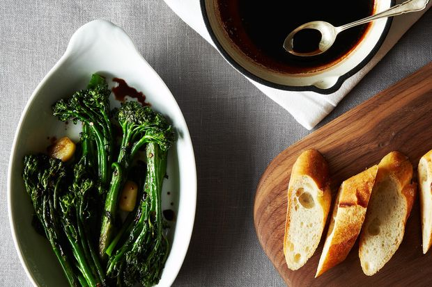 my rapini with vin cotto, as featured on Food 52