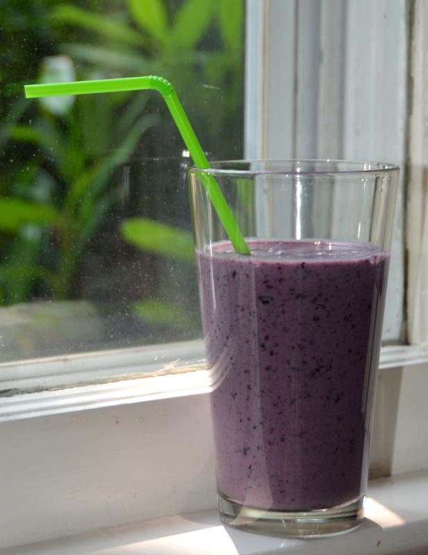 em's purple smoothie