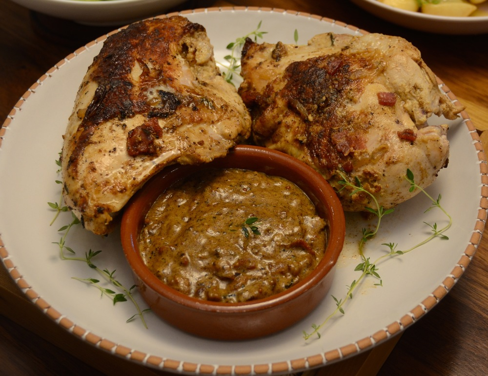 David Leibovitz's Chicken with Mustard Sauce (from  My Paris Kitchen )