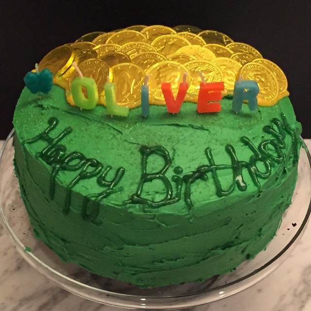 Ol's Pot of Gold cake