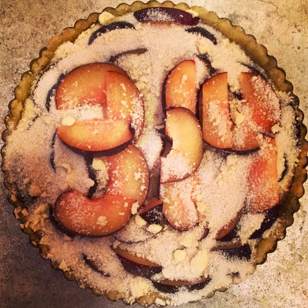 3.14 plum tart