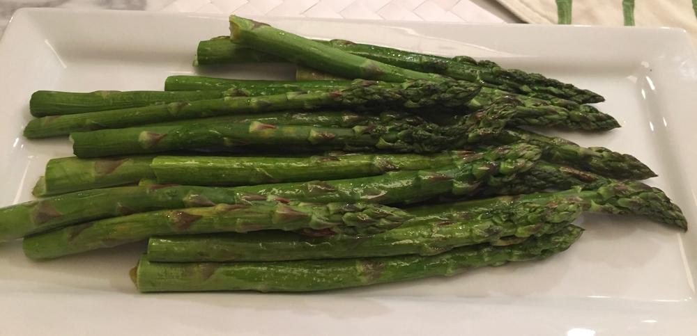 I love asparagus season.