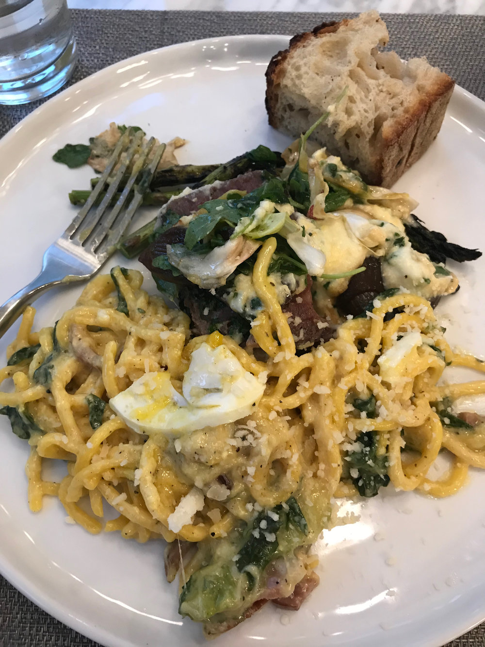y'all: please get the carbonara from Sfoglina. OMG! There is also a shor trib in polenta back there!