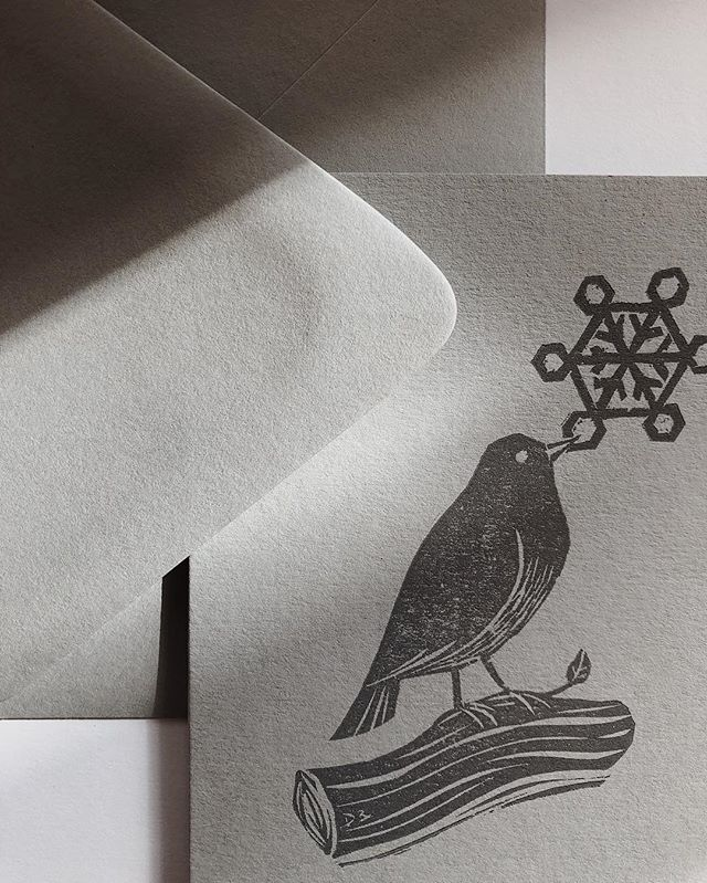 ❄️📬 #letterpress