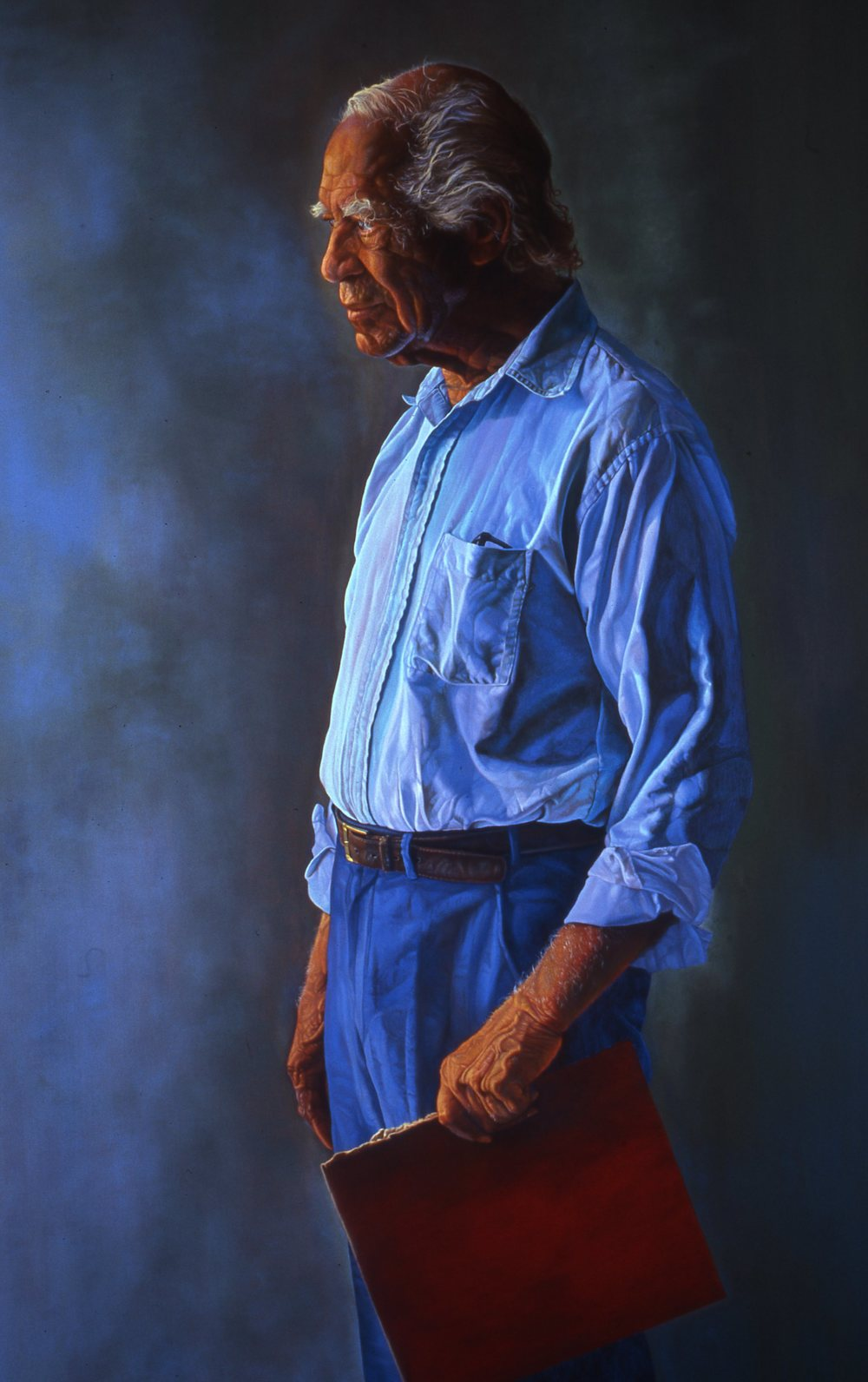 """The Activist""     2005 Oil on canvas   60 x 48 inches   © Richard Wyatt Jr."