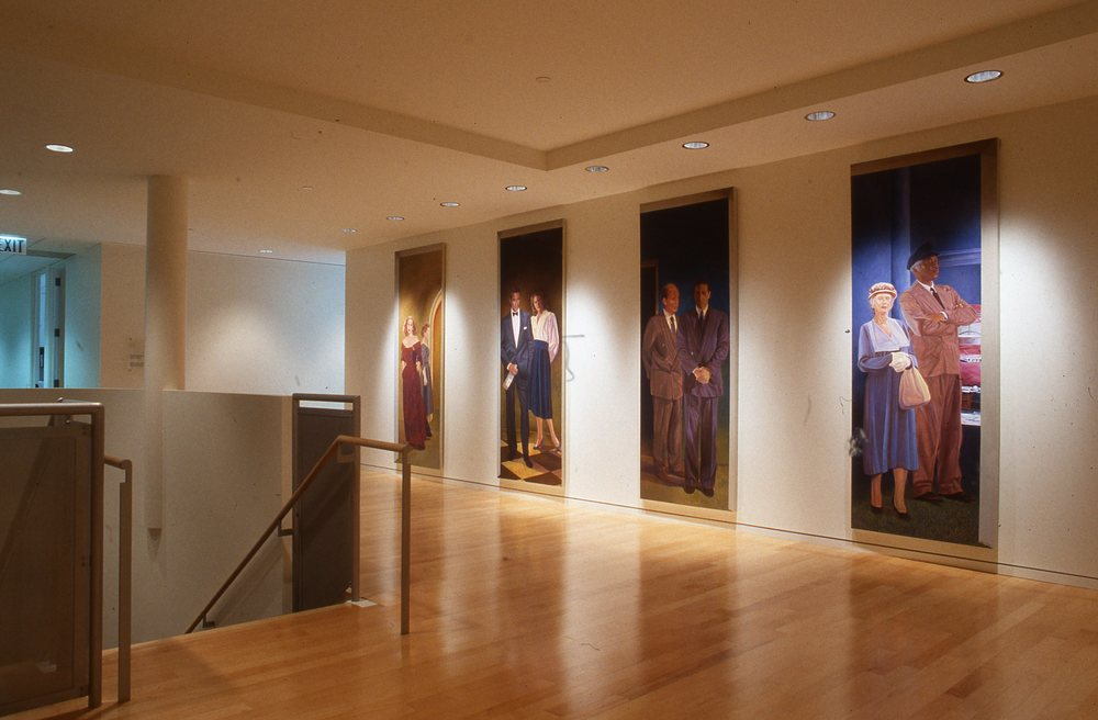 """Screen Actors Guild Interior Mural"", Located at lobby entrance    1993   © Richard Wyatt Jr."