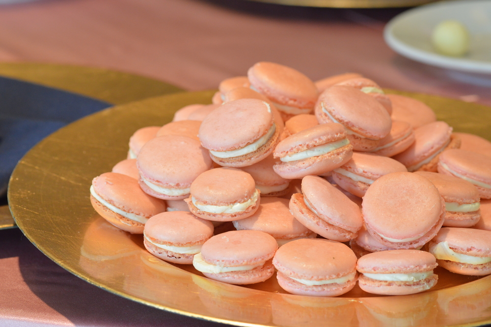Custom French Macarons for a wedding