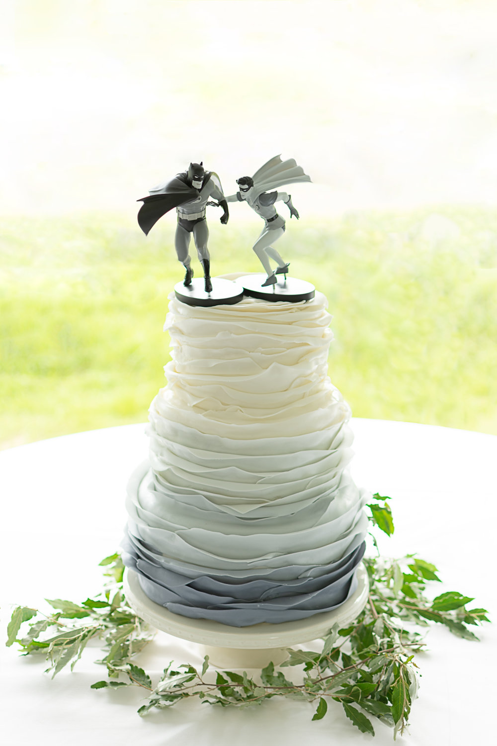 Grey Ombre Cake