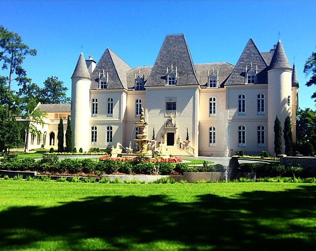 This wedding was held at the  Chateau Cocomar  in Houston, Texas.
