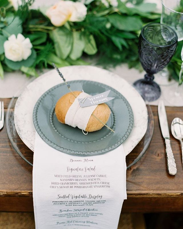 Thinking back to this gorgeous clear tent, amazing table setting and unique place cards. Designed by: @jenriosweddings Photography:  @shannons_photo