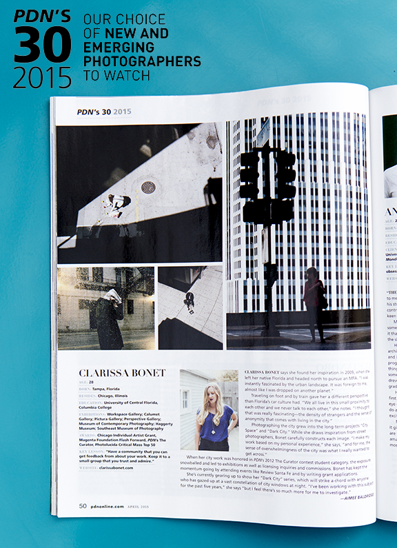 The PDN 30 issue has hit the stands! Pick up a copy today and check out all the talented photographs who made this years list.