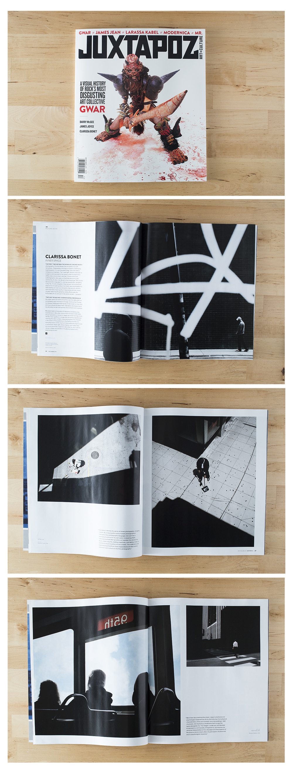 Juxtapoz Magazine December Issue