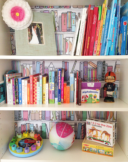 February Makeover Bookshelf Organization With Chasing Paper AVE