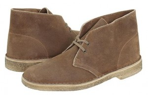 Clarks Desert Boots in Taupe