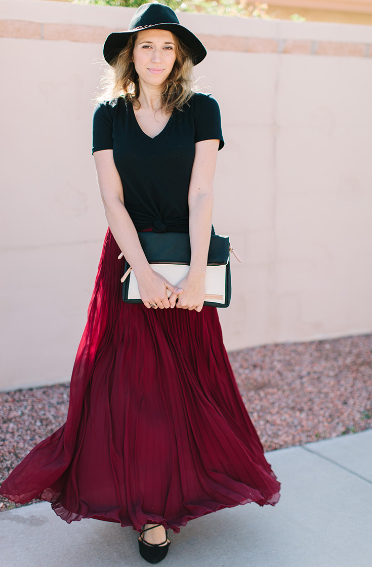 MAXI SKIRT & T-SHIRT — AVE Styles