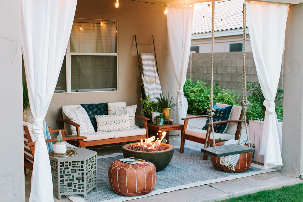 Backyard Makeover With Hayneedle Ave Styles