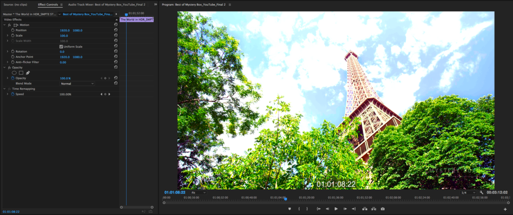 Adobe Premiere CC 2017 - Real World Feature Review — Mystery Box