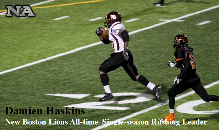 Damien Haskins All-time single season rushing leader.png