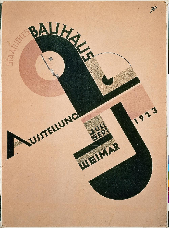 Bauhaus Joost Schmidt, 1923