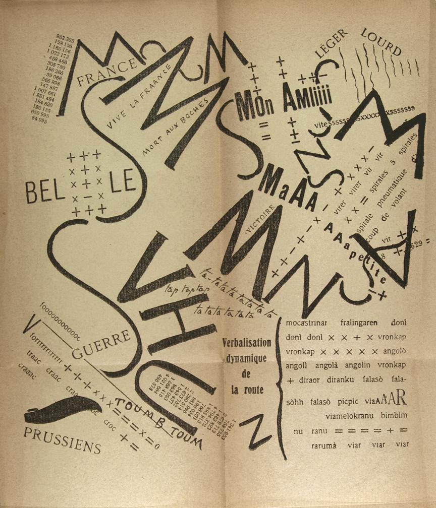 Futurism Filippo Tommaso Marinetti, 1919