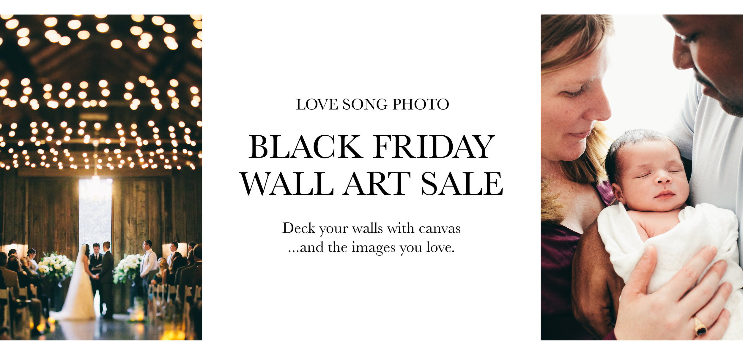 seattle wedding & portrait photographer black friday deal