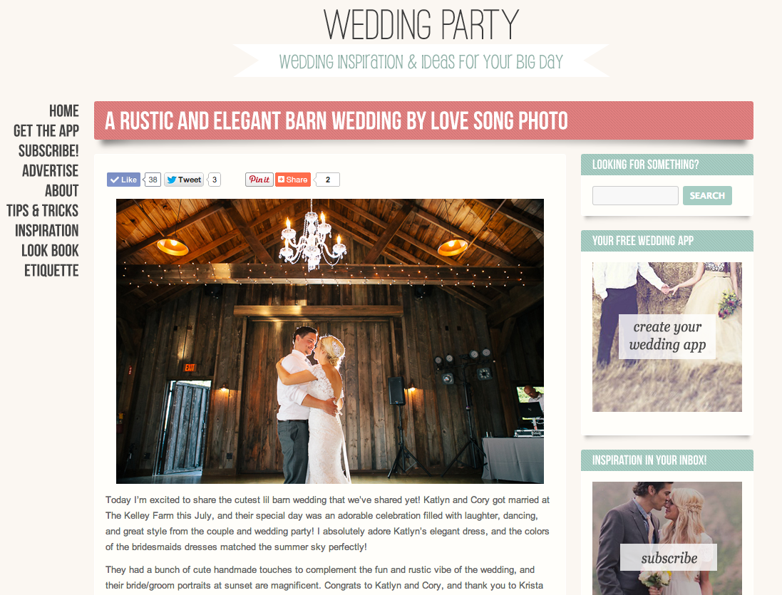 featured barn wedding
