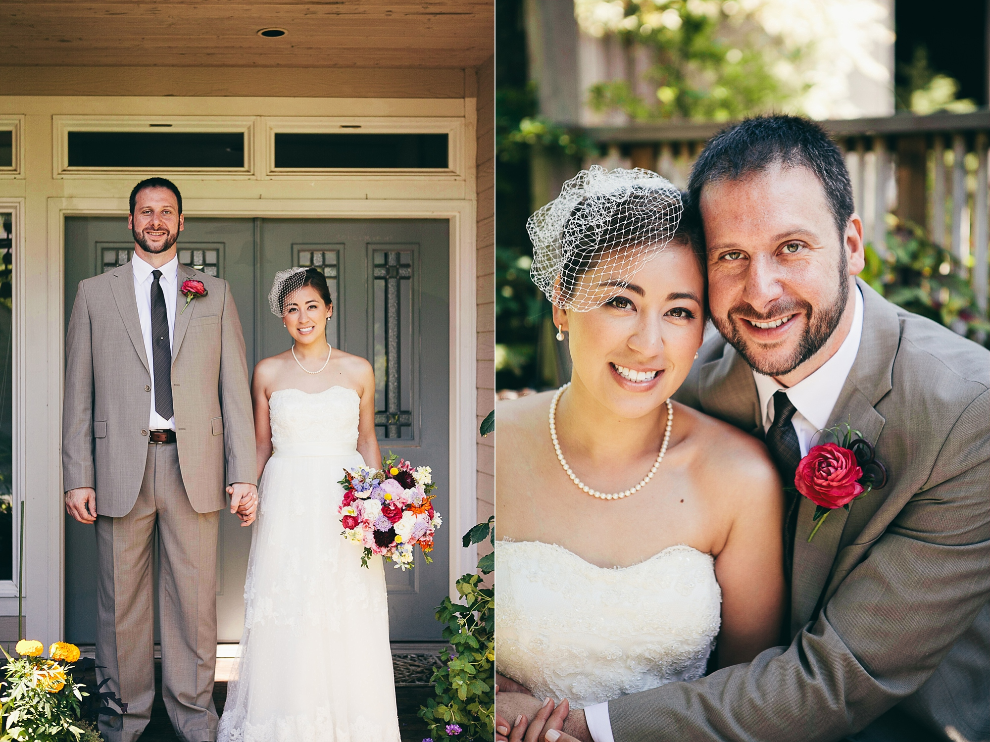 Seattle backyard wedding