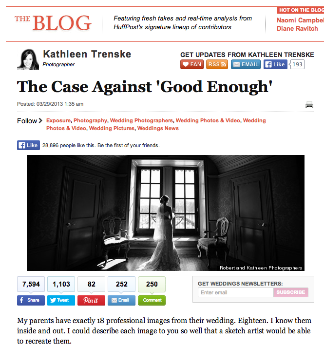 The Case Against Good Enough by Kathleen Trienske