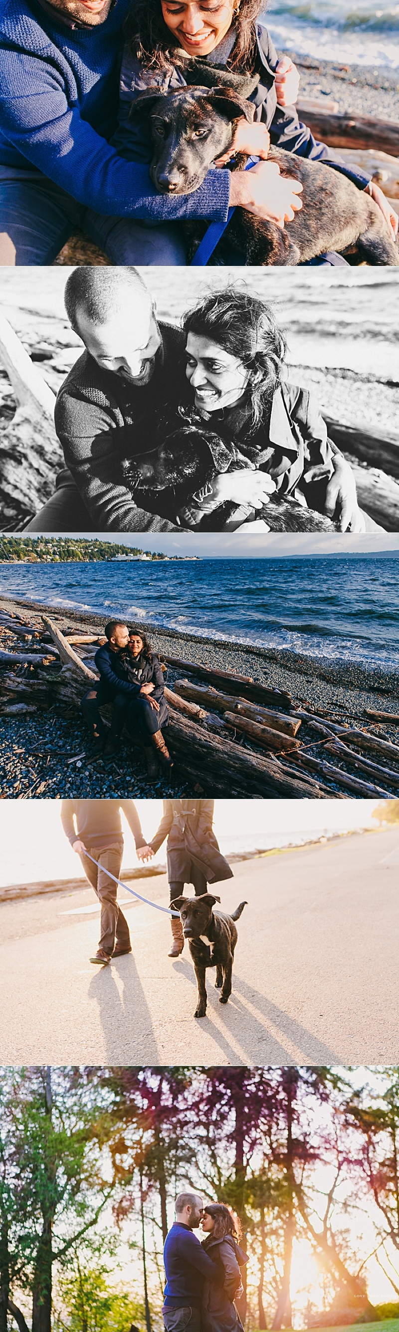 sunny seattle spring engagement session by Love Song Photo