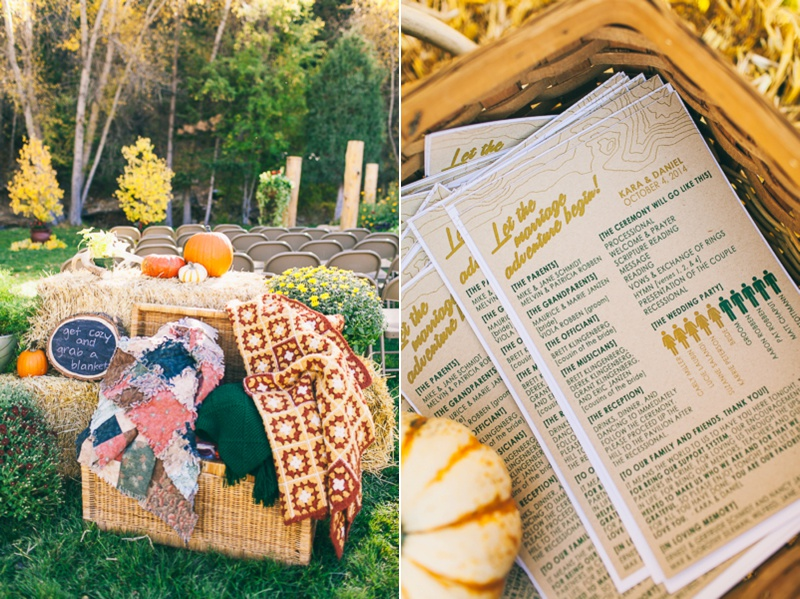 fall destination wedding in colorado