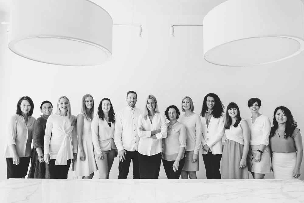 The design team at  Susan Marinello Interiors