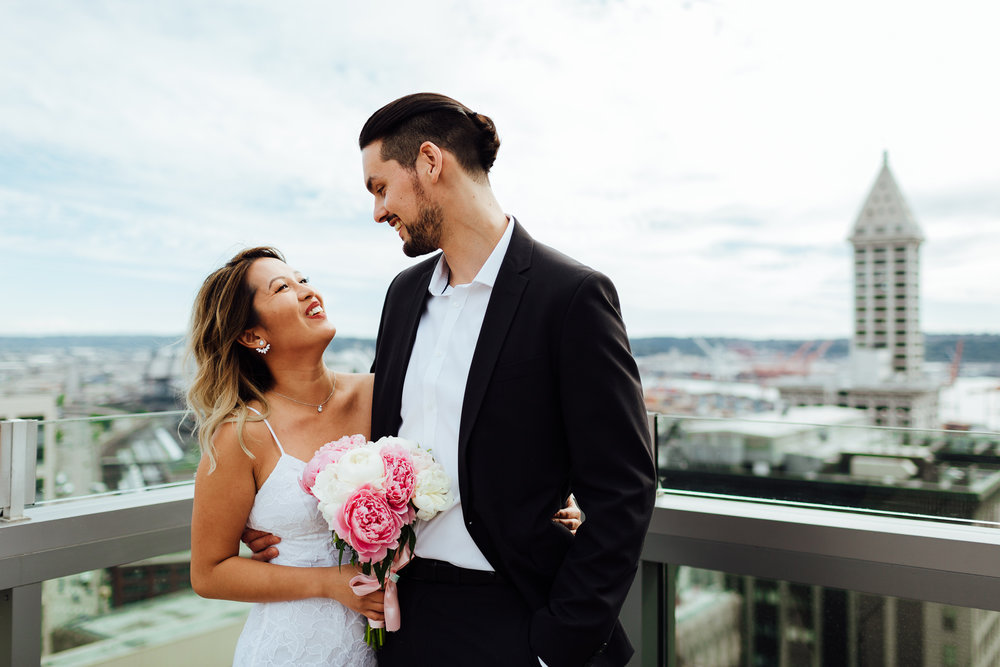 Seattle Rooftop Courthouse Wedding Photos by Krista Welch00011.jpg