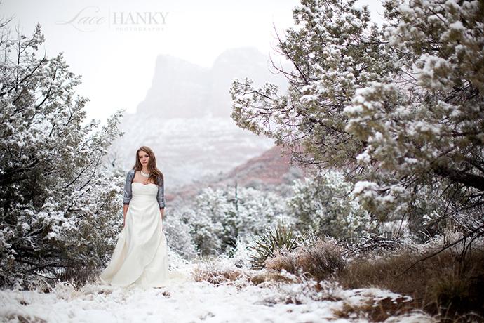 sedona arizona wedding photographer lace hanky