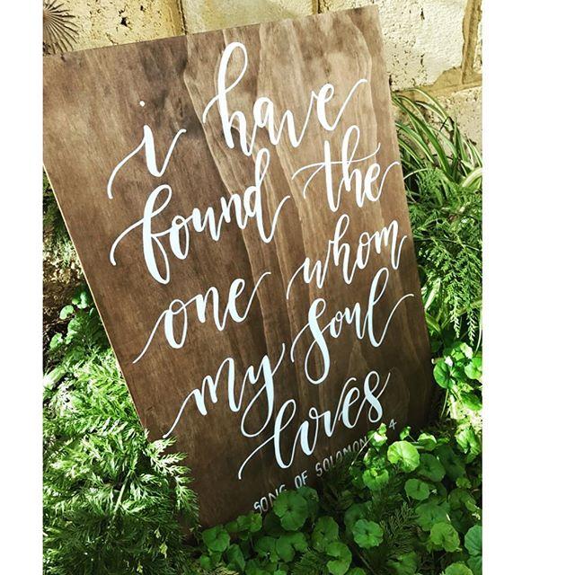 The most beautiful words for the most beautiful couple! ⠀ ⠀ #congrats #wedding #perthwedding #weddinginspo #chalknco #weclomesign #woodensign #love #aussieweddings #perthchalkartist