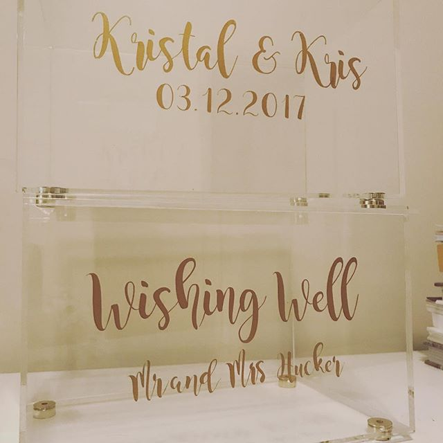 Wishing wells are still flying out the door! We are closing over the Christmas break for a few days. All orders placed from 22nd December to 2nd January will experience slightly longer processing times. 🎄#Christmas #wedding #wishingwell #chalknco #perthweddings #perth #weddinginspo