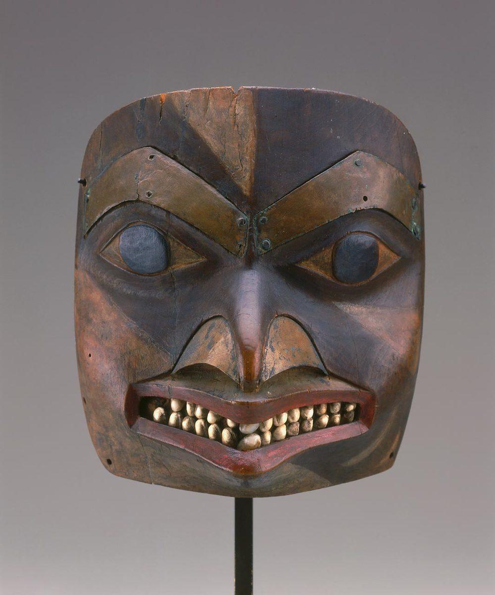 Tsimshian maskette