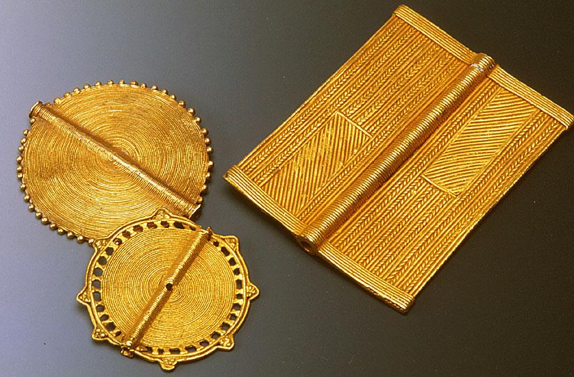High karat lost-wax cast beads. RKL
