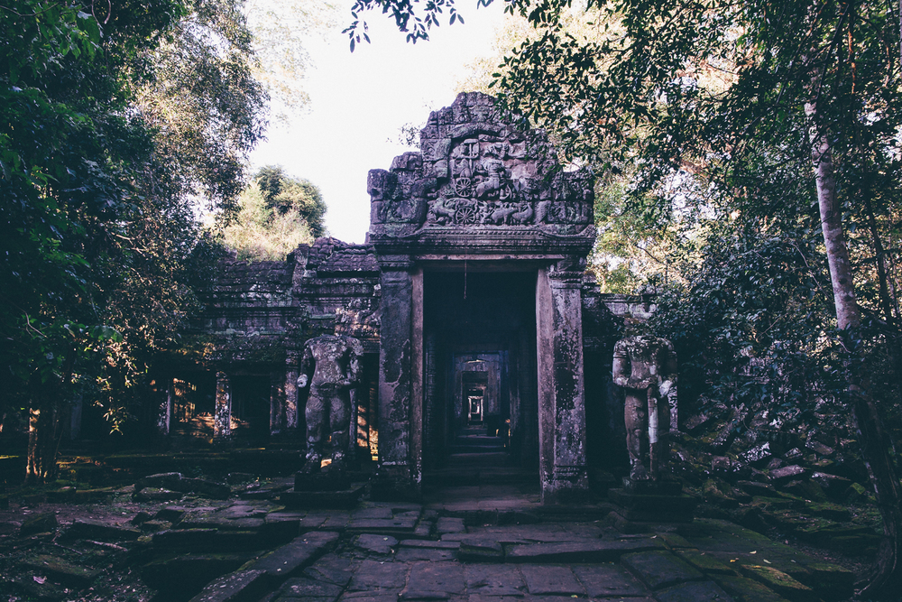 East entrance to Preah Khan