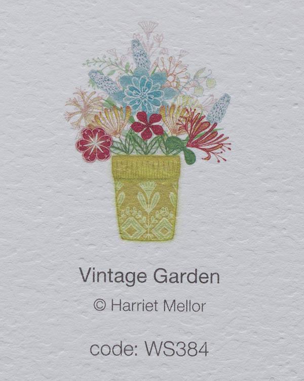 Vintage Garden card back