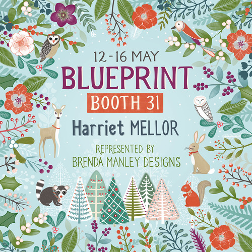 Blueprint may 2016 new york here i come harriet mellor in just a couple of weeks my agent brenda manley will be representing me at 2 shows in new york the first is blueprint and i will be there on the saturday malvernweather Gallery