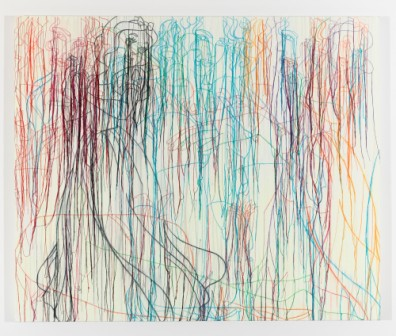 Ghada Amer, Snow White without the Dwarves, 2008. Courtesy Barjeel Art Foundation
