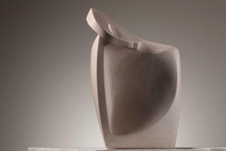 Lutfi Al Romhein, Untitled, 1996, marble, 45 x 30 x 17 cm